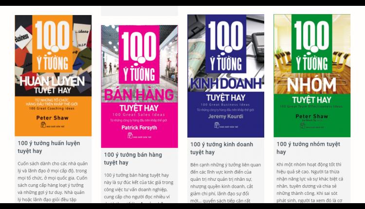 NXB Tre 100 ideas hay2